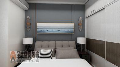经济型90平米三室两厅现代简约风格卧室设计图