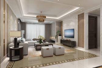 富裕型140平米四混搭风格客厅设计图