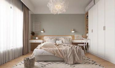 富裕型70平米一室一厅北欧风格卧室装修效果图