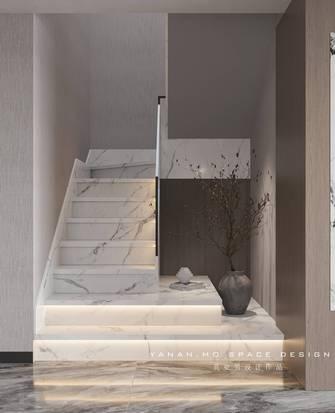 140平米复式中式风格楼梯间装修效果图