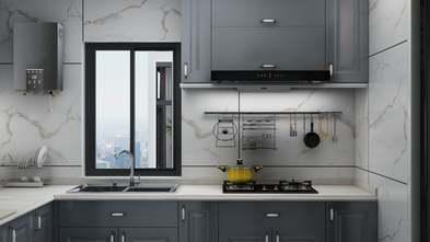 20万以上140平米四室一厅现代简约风格厨房欣赏图
