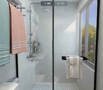 豪华型120平米三现代简约风格卫生间设计图