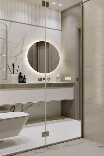5-10万70平米公寓欧式风格卫生间欣赏图