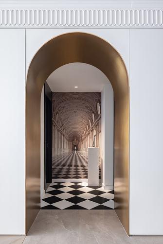 富裕型四室一厅轻奢风格玄关图