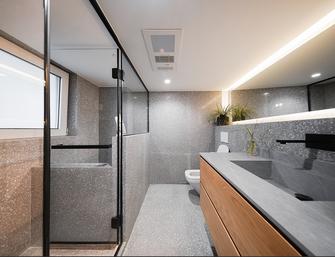 80平米复式日式风格卫生间装修案例