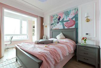 富裕型100平米三美式风格卧室图