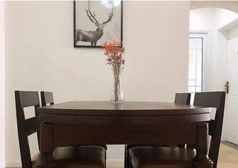 富裕型80平米三室三厅美式风格餐厅装修效果图