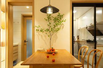 10-15万70平米三室两厅田园风格餐厅效果图