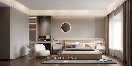 富裕型140平米地中海风格卧室图