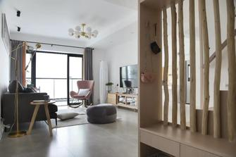 富裕型130平米四室两厅北欧风格玄关图片