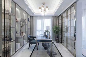 富裕型140平米四室两厅轻奢风格书房图片