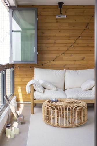 140平米三室两厅日式风格阳台装修案例