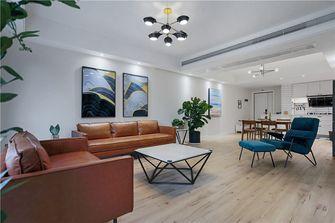 10-15万110平米三室三厅轻奢风格客厅图片