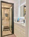 100平米三室两厅现代简约风格卫生间装修案例