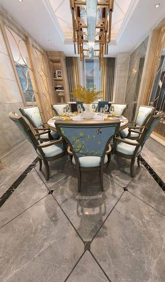 豪华型140平米别墅港式风格餐厅欣赏图