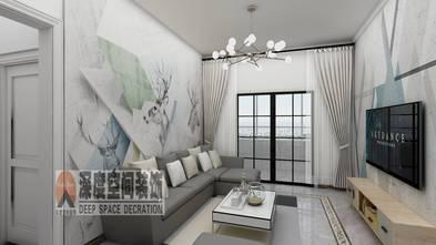 经济型90平米北欧风格客厅装修图片大全