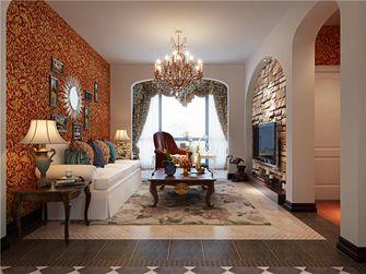 100平米三地中海风格客厅设计图