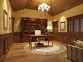 140平米别墅欧式风格书房欣赏图