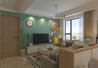 10-15万一室一厅混搭风格客厅装修图片大全