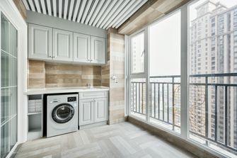 120平米三室两厅美式风格阳光房设计图