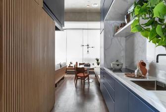 5-10万30平米小户型轻奢风格厨房图片大全