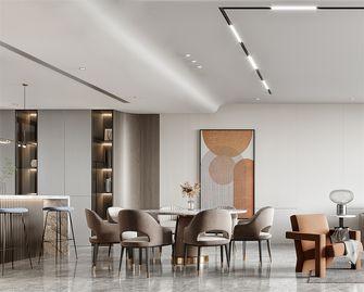 20万以上140平米别墅现代简约风格餐厅装修效果图