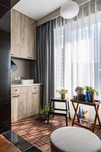 富裕型三室一厅混搭风格阳台图片大全