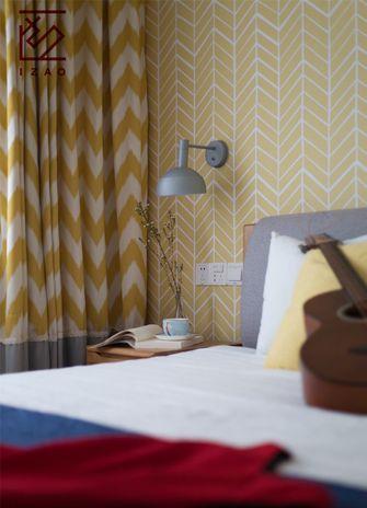 富裕型140平米复式北欧风格卧室图片大全