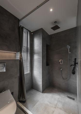80平米三室一厅现代简约风格卫生间图