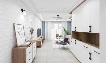 5-10万100平米三室两厅北欧风格玄关效果图