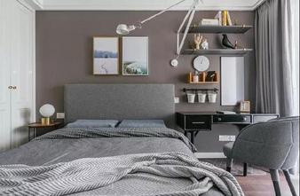 豪华型140平米三室一厅美式风格卧室图片