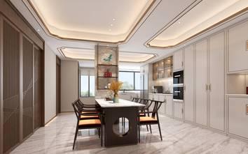 20万以上140平米复式中式风格餐厅图片大全