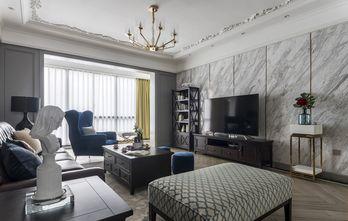 富裕型120平米公寓轻奢风格客厅设计图