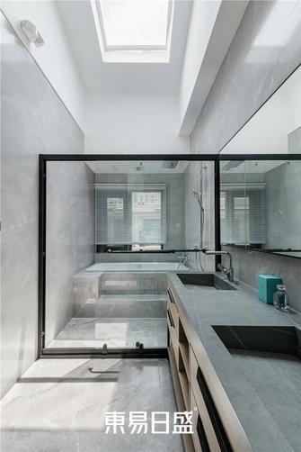140平米复式北欧风格卫生间设计图