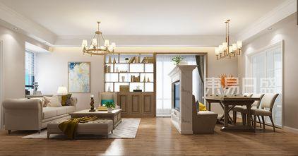 10-15万140平米四美式风格客厅设计图