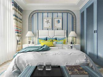 15-20万100平米三地中海风格卧室装修图片大全
