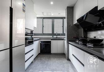 富裕型130平米三室两厅现代简约风格厨房图片大全