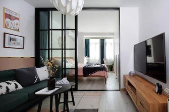 40平米小户型轻奢风格客厅图