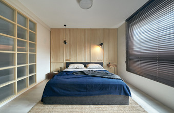 140平米四室三厅北欧风格卧室装修图片大全