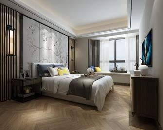 10-15万120平米三室一厅中式风格卧室装修效果图