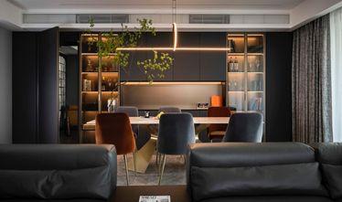 富裕型90平米三室一厅轻奢风格客厅欣赏图