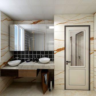 豪华型110平米三室两厅公装风格卫生间效果图