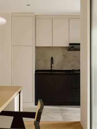 120平米三室两厅现代简约风格厨房设计图