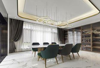 豪华型140平米三室两厅轻奢风格餐厅装修效果图