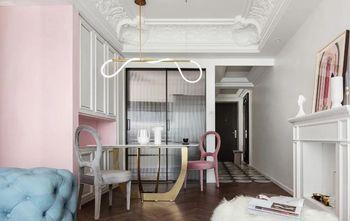 经济型100平米三室两厅法式风格客厅欣赏图