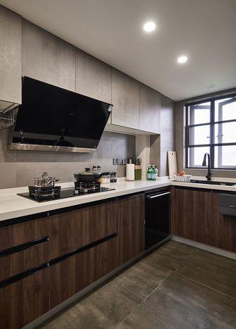 20万以上110平米三室两厅工业风风格厨房图片