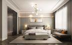3万以下140平米三现代简约风格卧室欣赏图