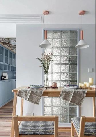 富裕型70平米一室一厅北欧风格餐厅图片