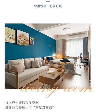 10-15万30平米小户型北欧风格客厅装修图片大全