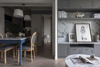 经济型80平米三室一厅美式风格餐厅装修案例